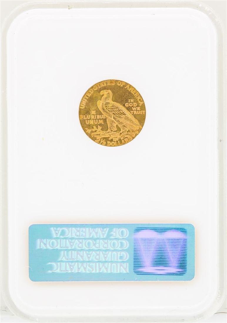 1929 $2 1/2 Indian Head Quarter Eagle Gold Coin NGC - 2