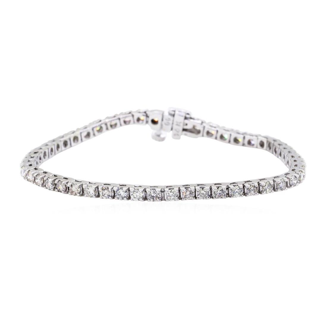 14KT White Gold 3.00 ctw Diamond Tennis Bracelet
