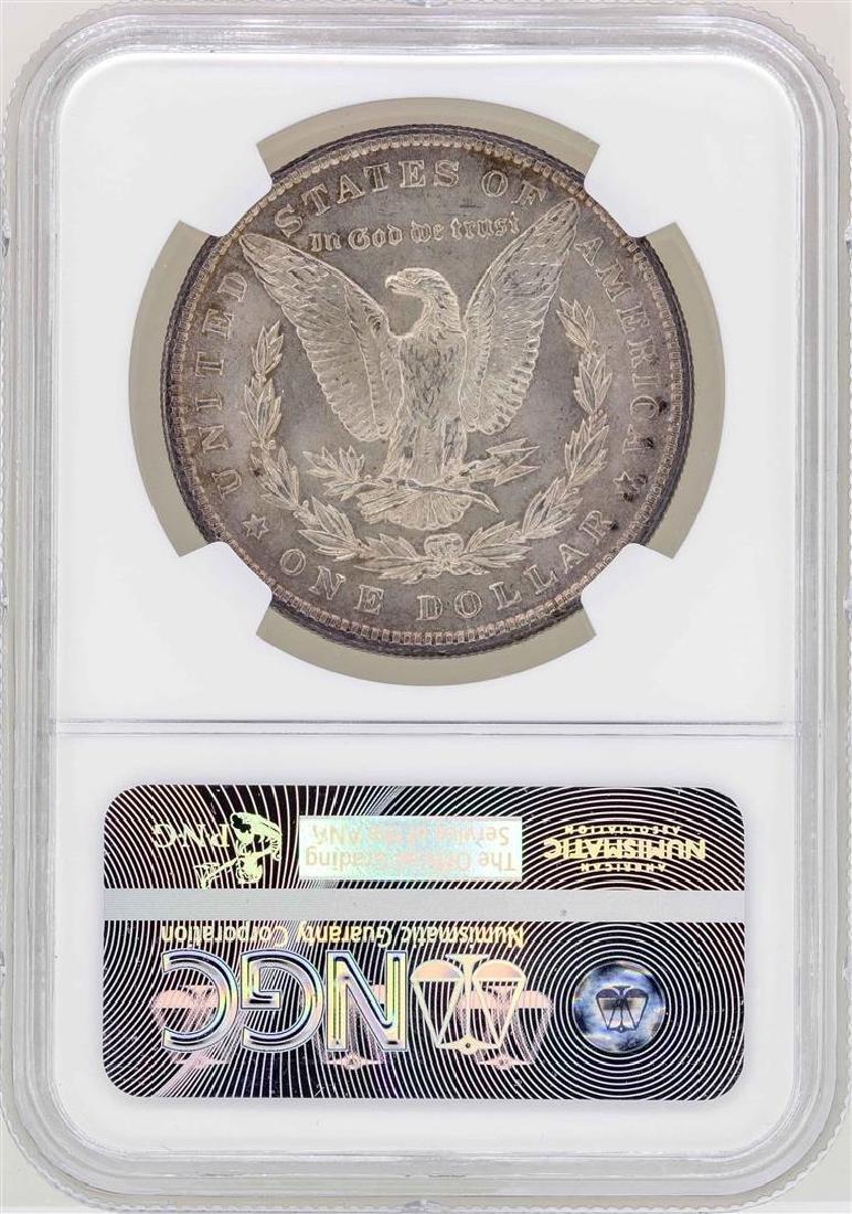 1896 $1 Morgan Silver Dollar Coin NGC MS63 - 2