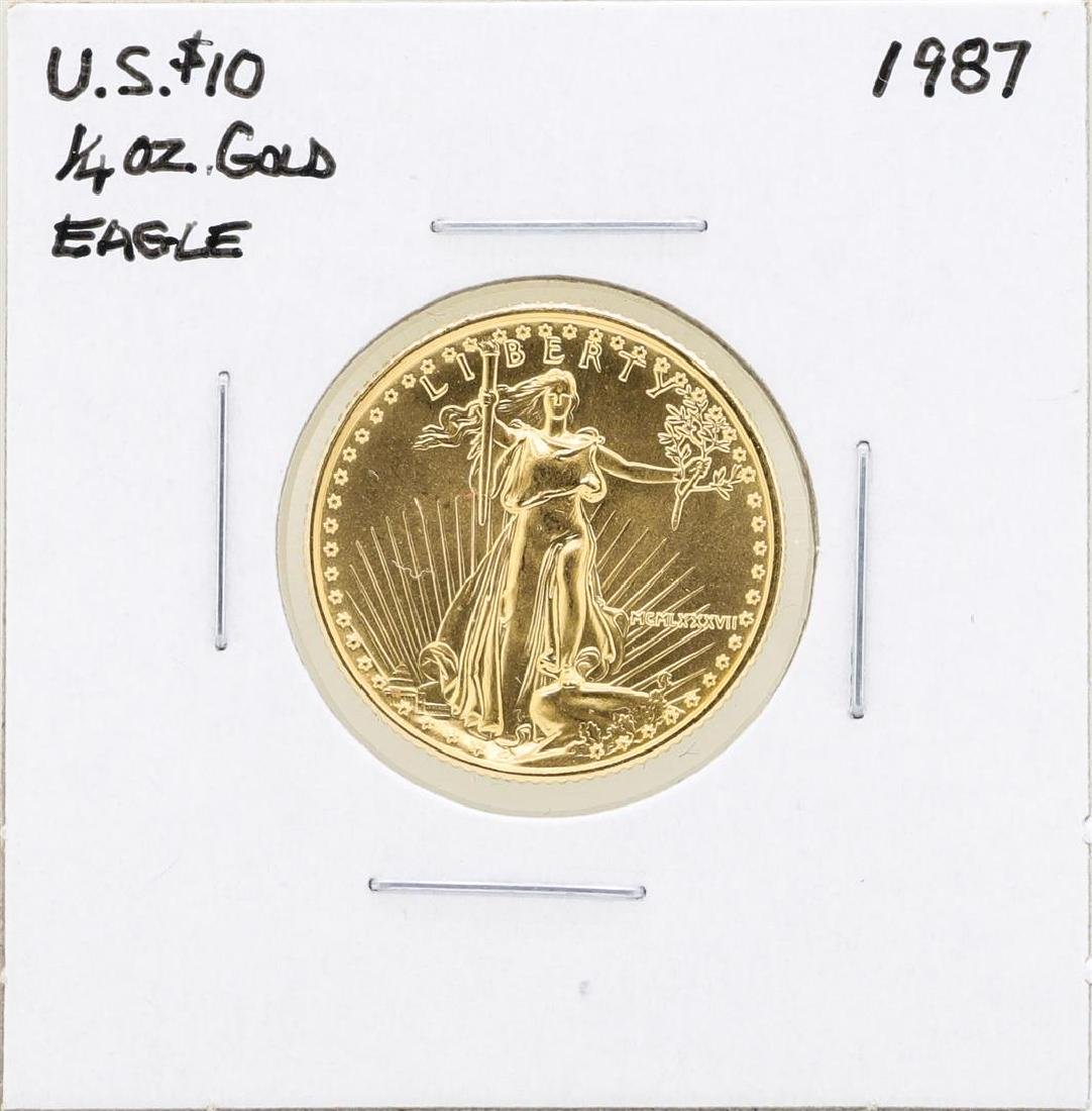 1987 $10 American Gold Eagle Coin