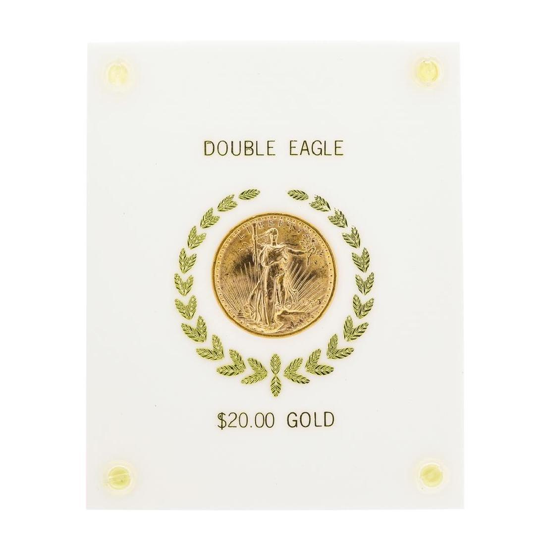 1923 $20 Saint Gaudens Double Eagle Gold Coin