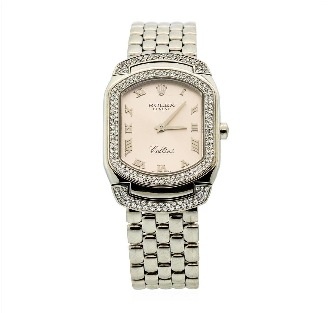 Rolex 18KT White Gold Cellini Cellissma Ladies