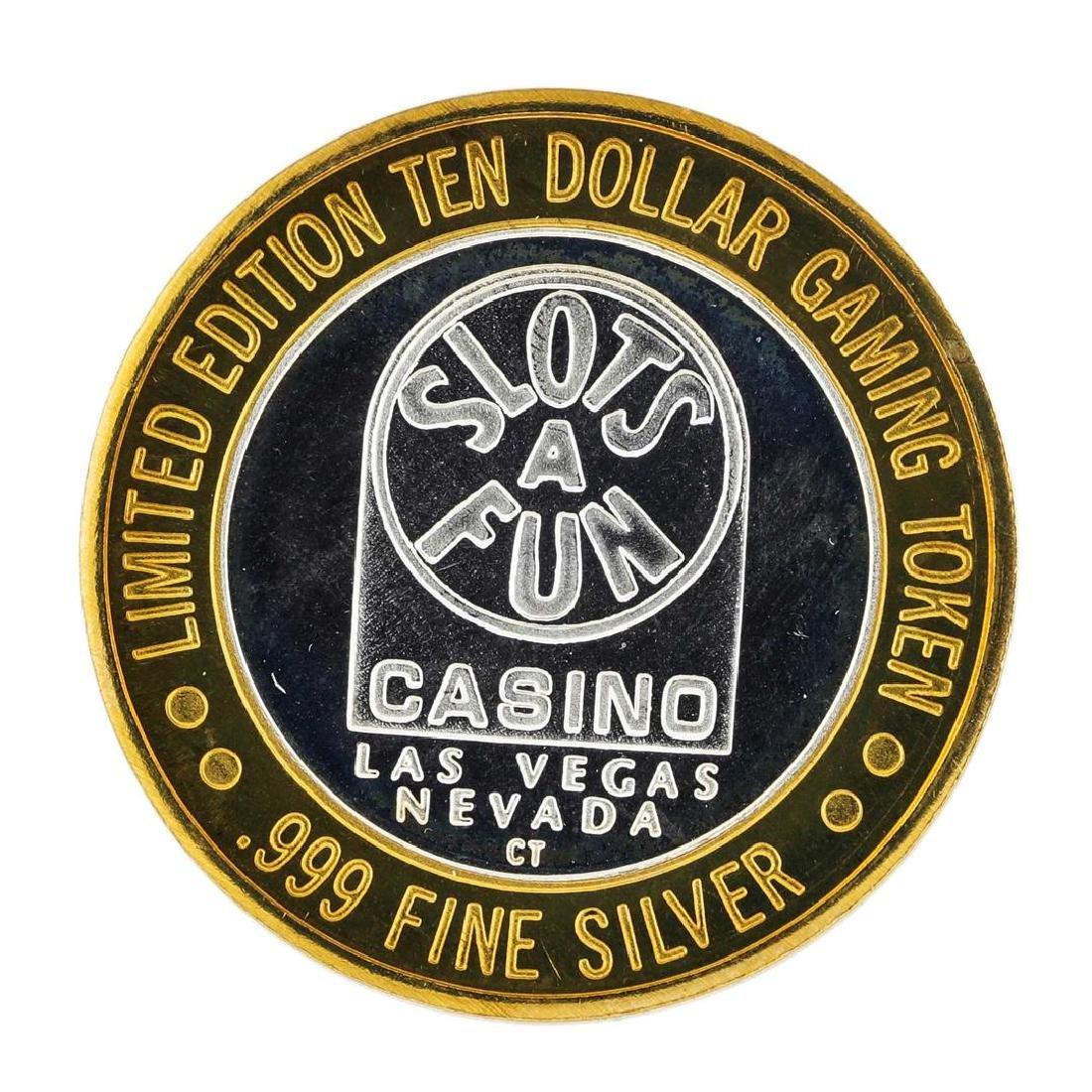 .999 Silver Slots A Fun Casino Las Vegas, NV $10