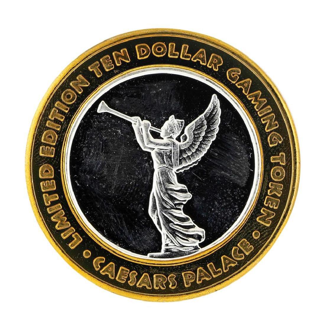 .999 Silver Caesars Palace Las Vegas, Nevada $10 Casino - 2