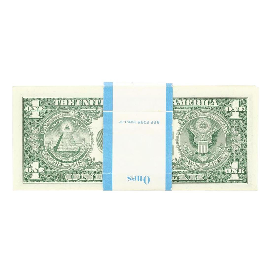 Pack of (100) Consecutive 1957B $1 Silver Certificate - 2