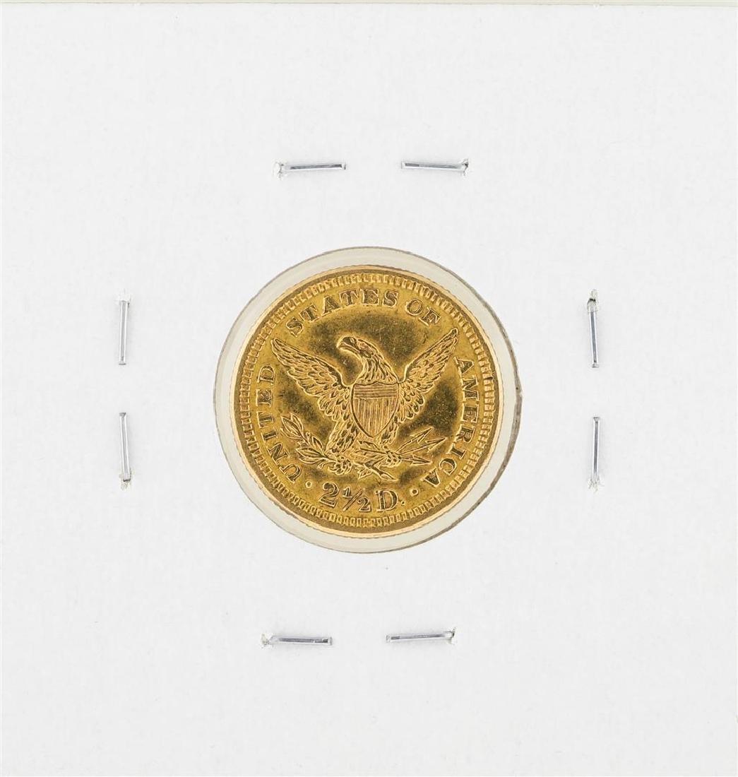 1907 $2 1/2 Liberty Head Quarter Eagle Gold Coin - 2
