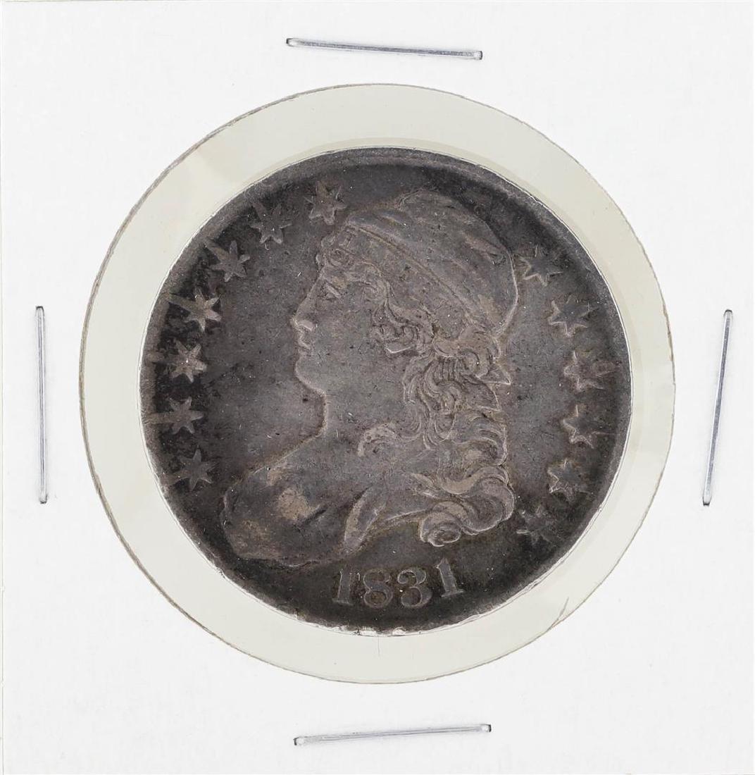1831 Capped Bust Half Dollar Coin