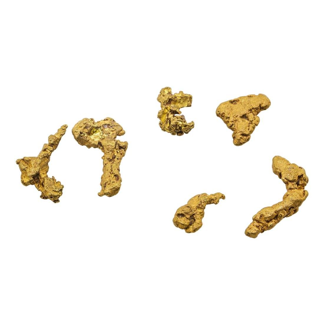 Lot of Gold Nuggets 2.6 grams Total Weight