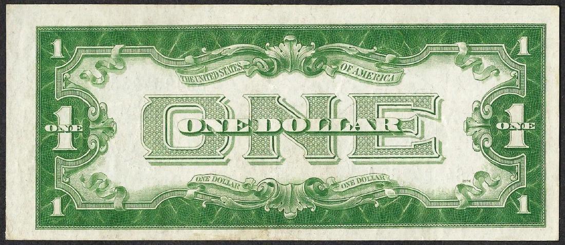 1934 $1 Funnyback Silver Certificate Note - 2