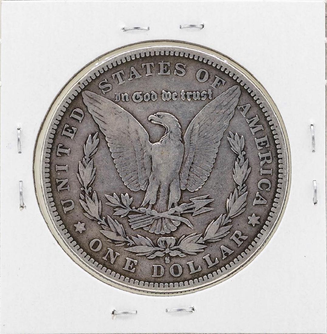 1894-S $1 Morgan Silver Dollar Coin - 2