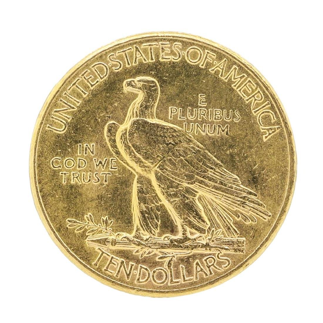 1926 $10 Indian Head Eagle Gold Coin - 2