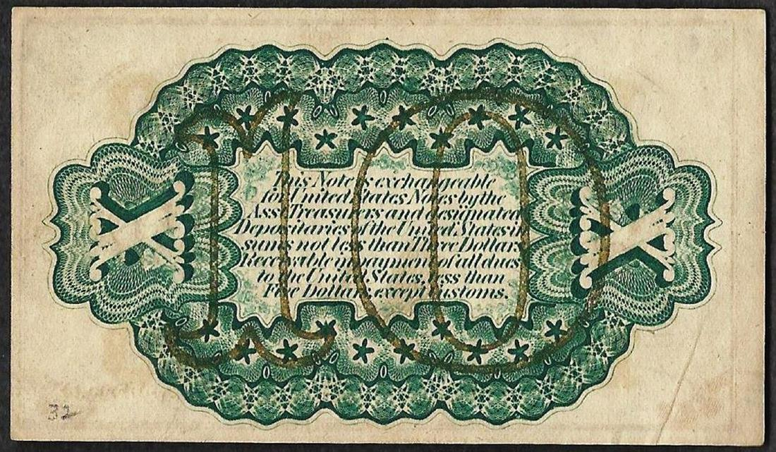 March 3, 1863 Third Issue 10 Cent Fractional Currency - 2