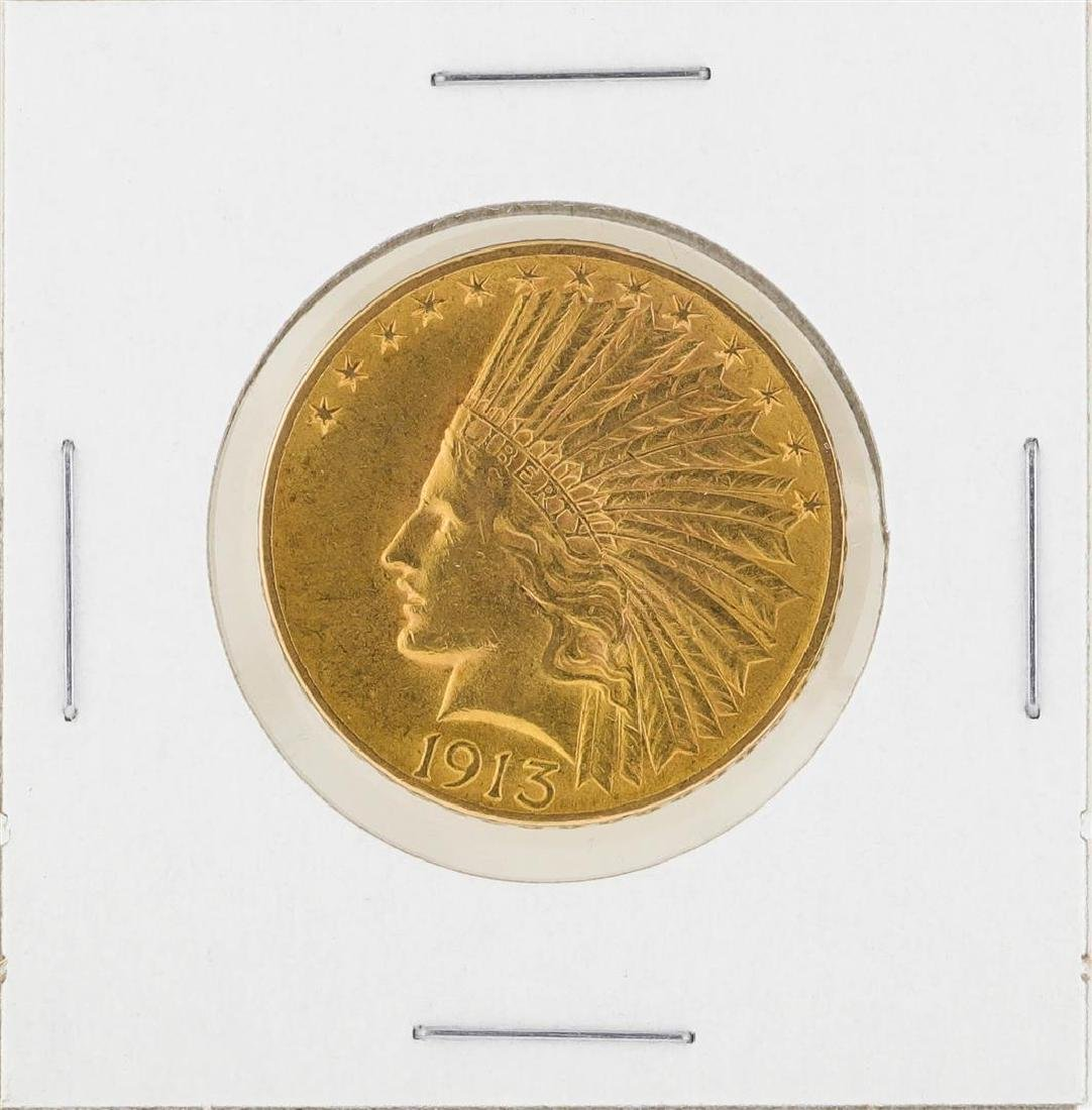 1913 $10 Indian Head Eagle Gold Coin