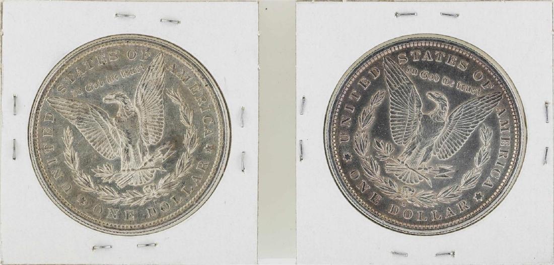 Lot of 1890-S & 1891-S $1 Morgan Silver Dollar Coins - 2