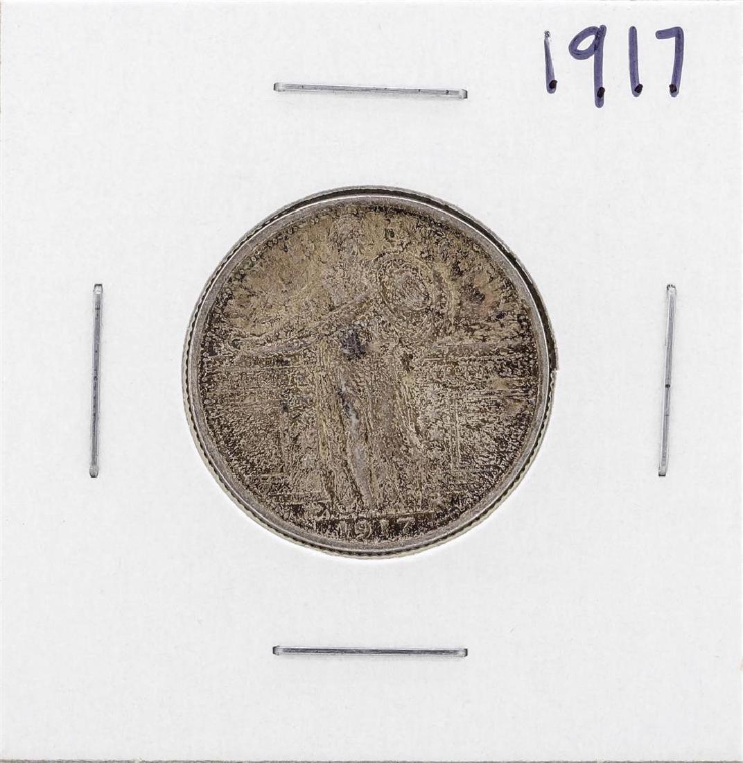 1917 Standing Liberty Quarter Coin