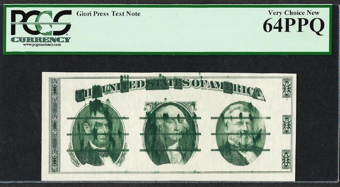 Giori Press Test Note PCGS Very Choice New 64PPQ