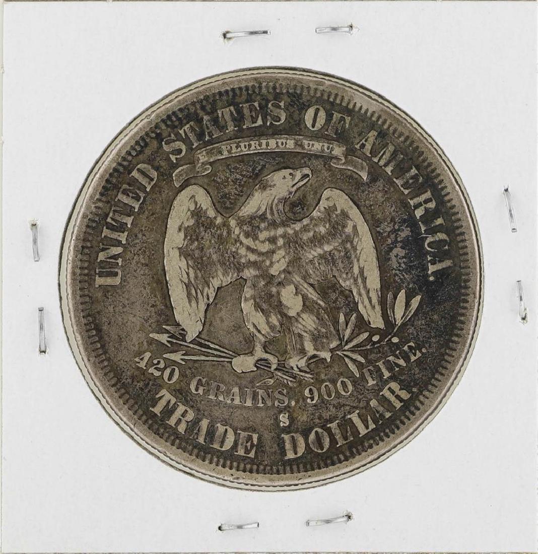 1877-S $1 Trade Silver Dollar Coin - 2