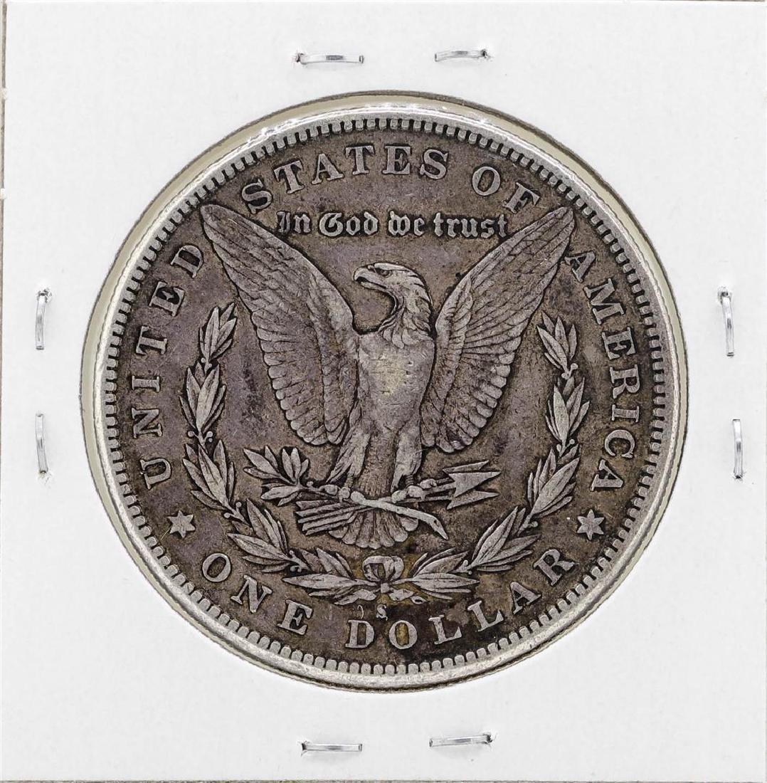 1885-S $1 Morgan Silver Dollar Coin - 2