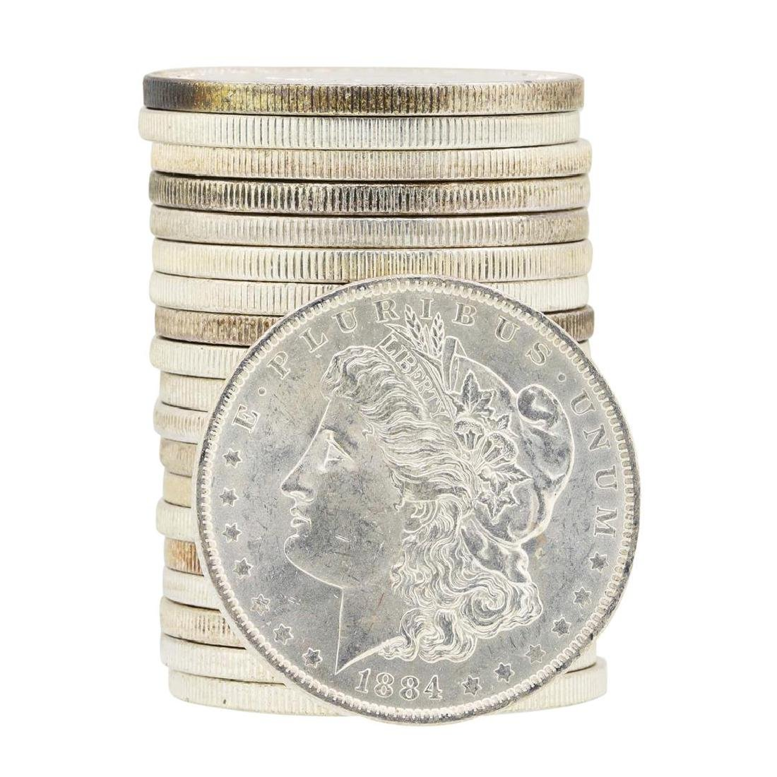 Roll of (20) Assorted Date Pre 1921 Morgan Silver