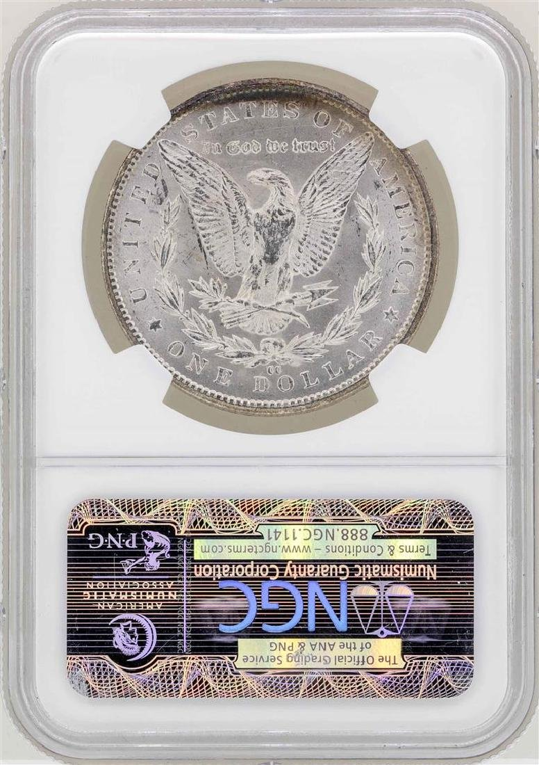 1884-CC $1 Morgan Silver Dollar Coin NGC MS63 - 2