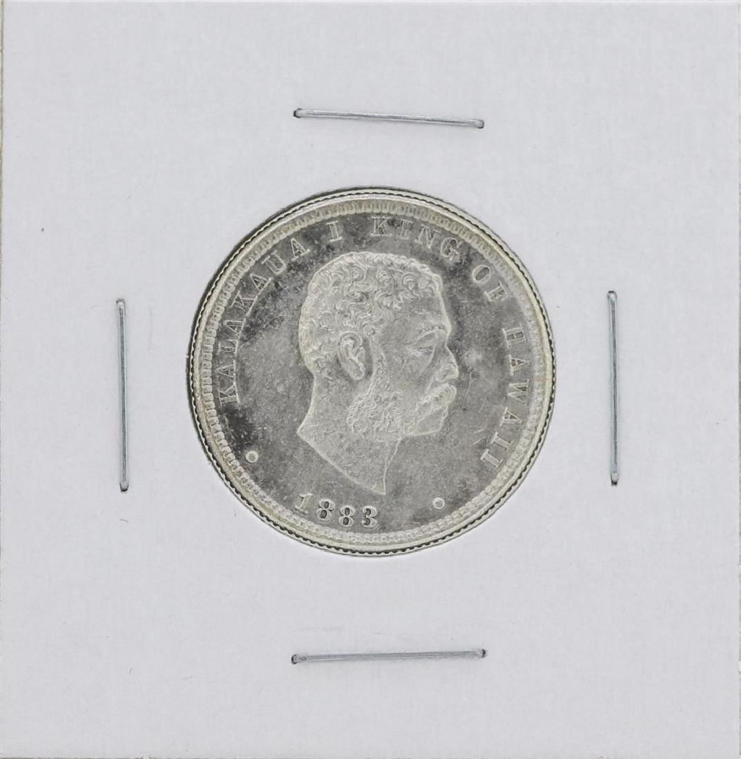 1883 Kingdom of Hawaii Quarter