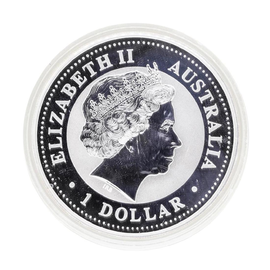 2000 Australia Silver Lunar Dragon Coin - 2
