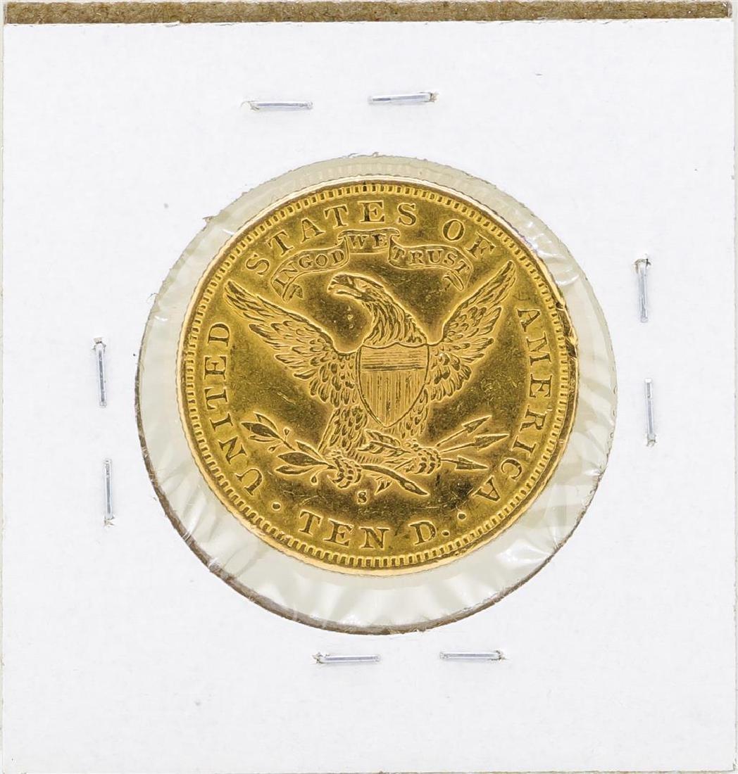 1886-S $10 Liberty Head Eagle Gold Coin - 2