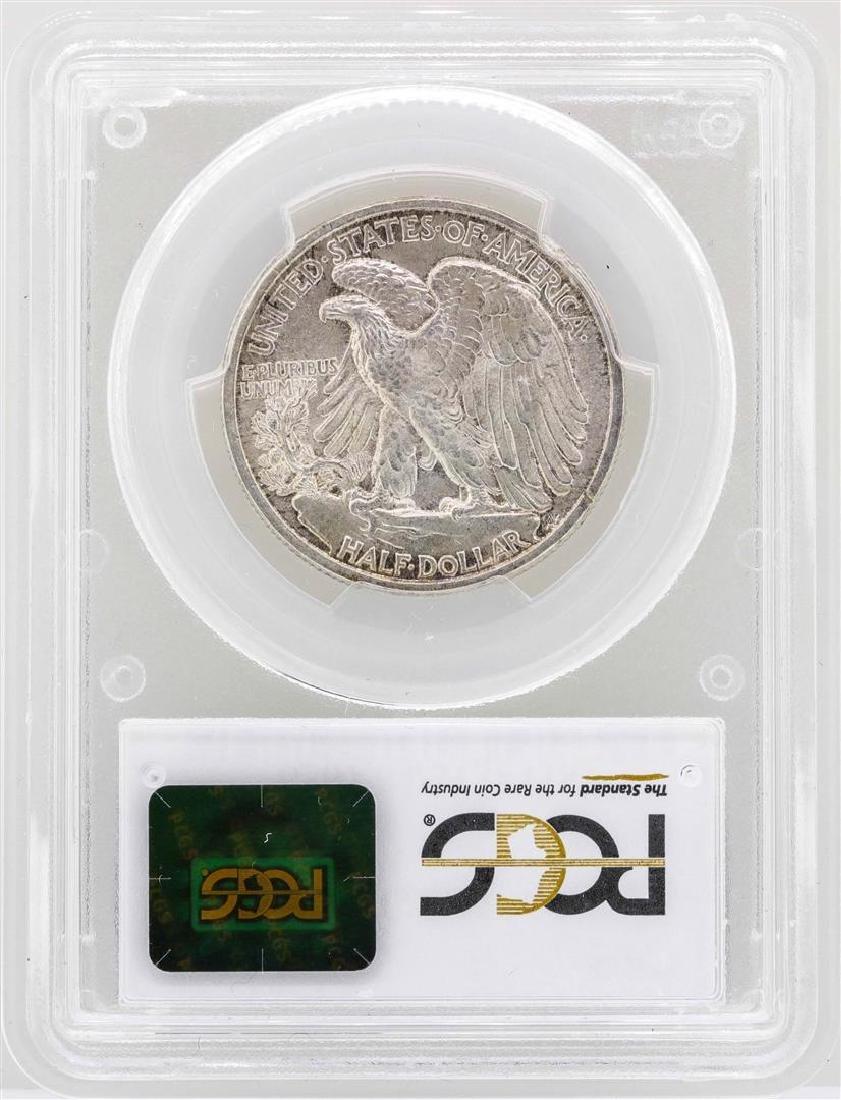 1916-D Walking Liberty Half Dollar Coin PCGS MS64 - 2