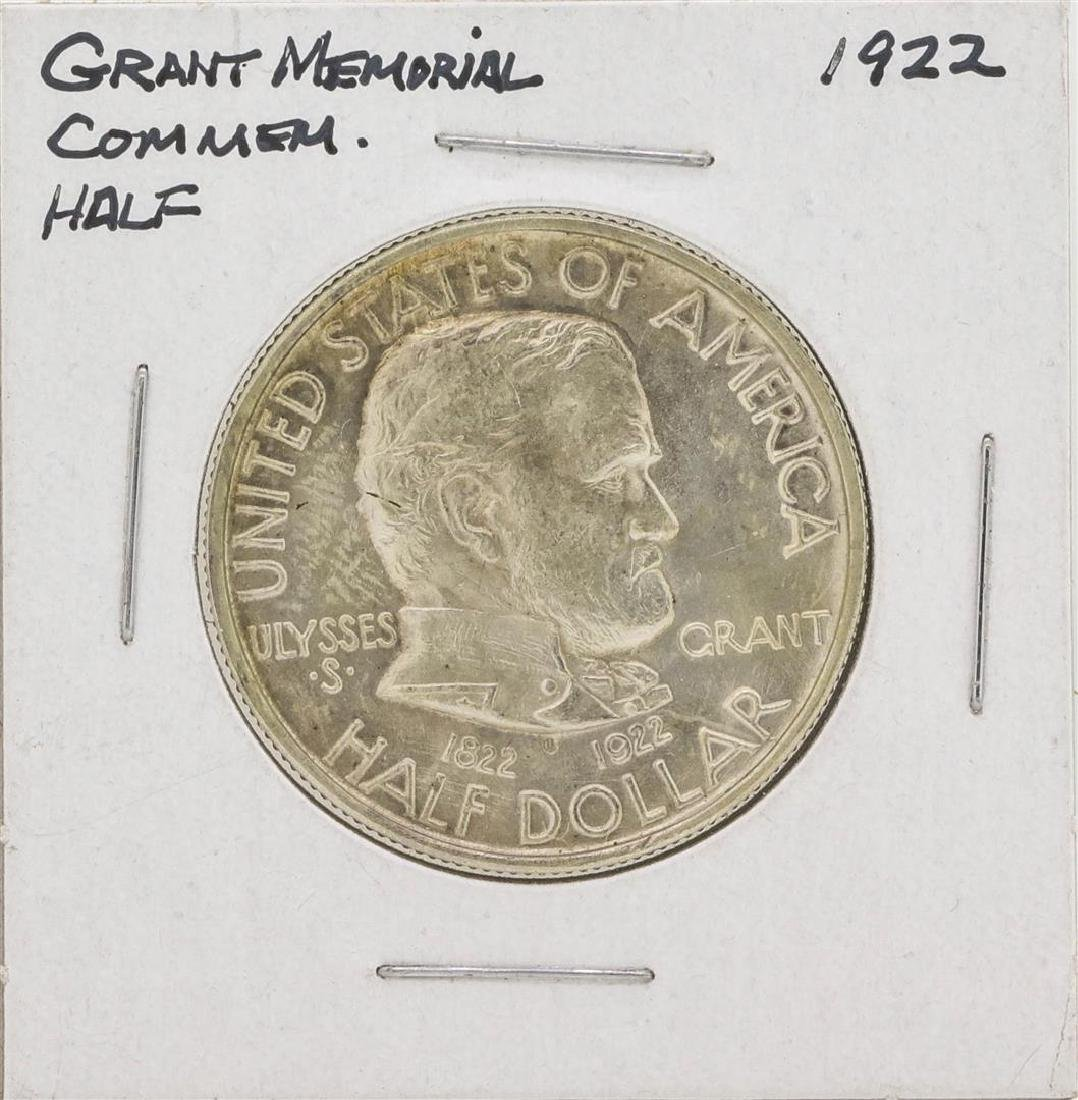 1922 General Grant Memorial Commemorative Half Dollar