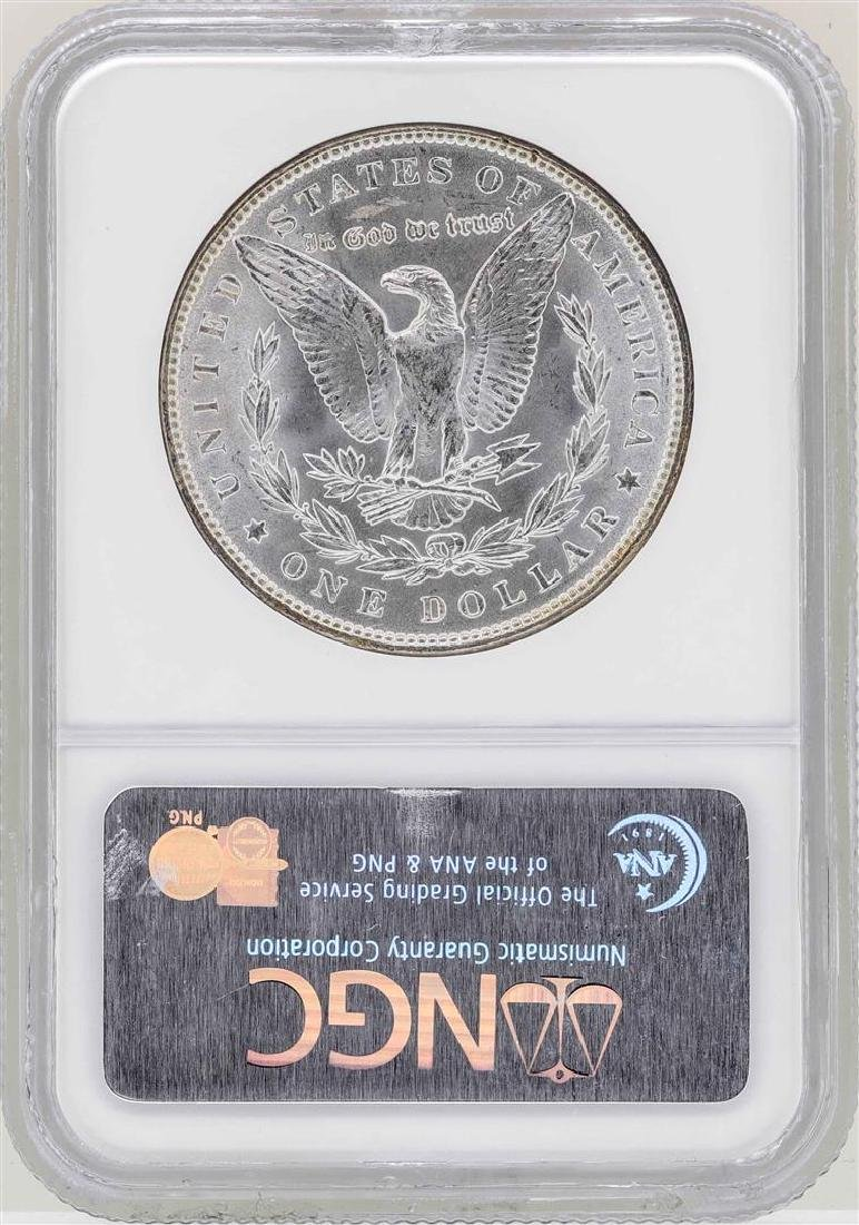 1887 $1 Morgan Silver Dollar Coin NGC MS65 - 2
