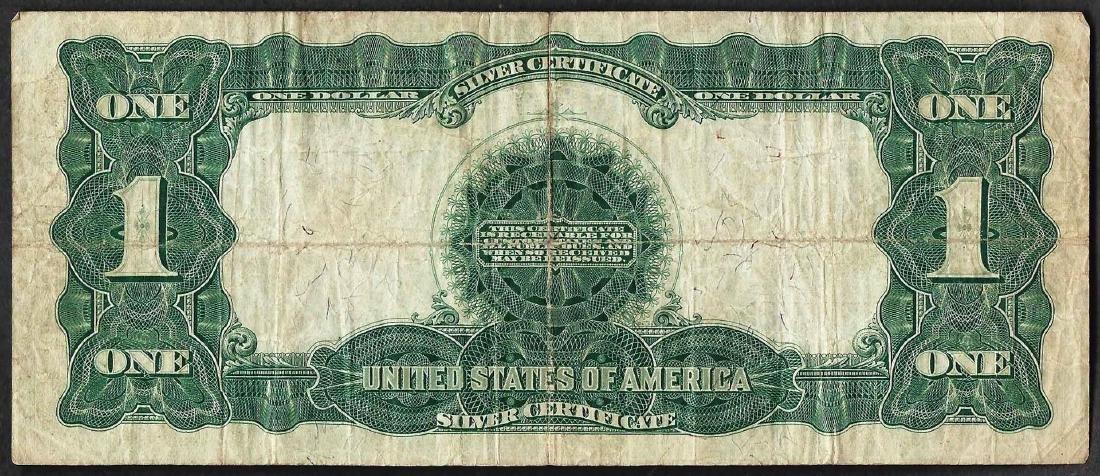 1899 $1 Black Eagle Silver Certificate Note - 2