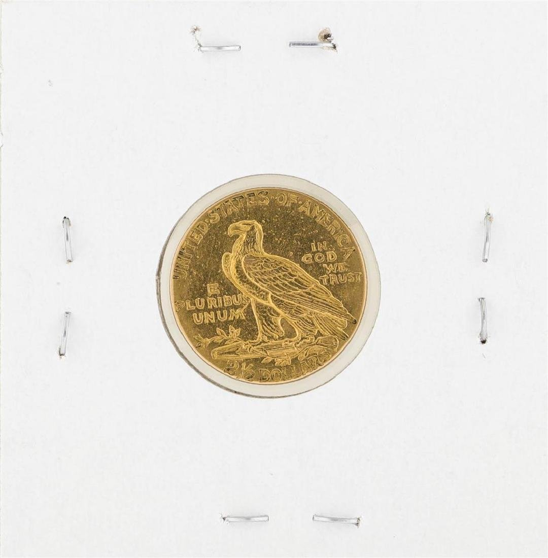 1915 $2 1/2 Indian Head Quarter Eagle Gold Coin - 2