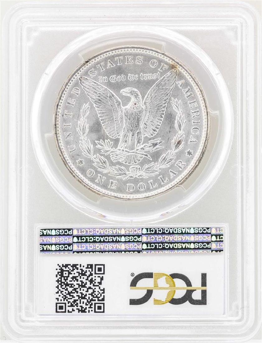 1889 $1 Morgan Silver Dollar Coin PCGS MS64 - 2