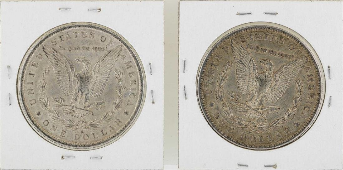 Lot of 1890-S & 1891-S $1 Morgan Silver Dollar Coins - 2