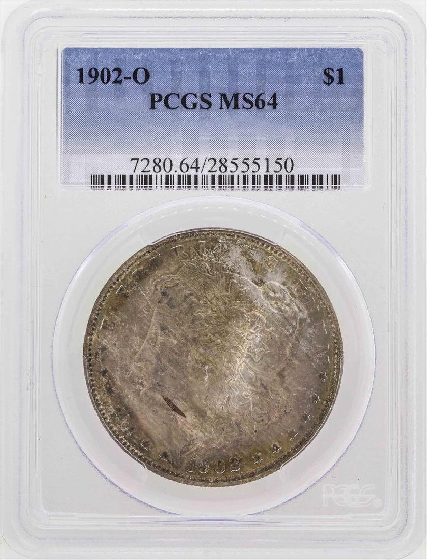 1902-O $1 Morgan Silver Dollar Coin PCGS MS64