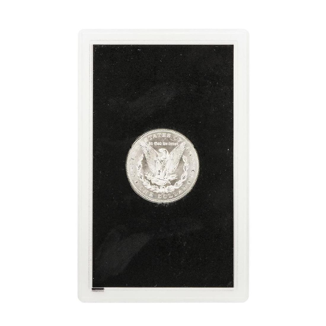 1884-CC $1 Morgan Silver Dollar Coin GSA - 3