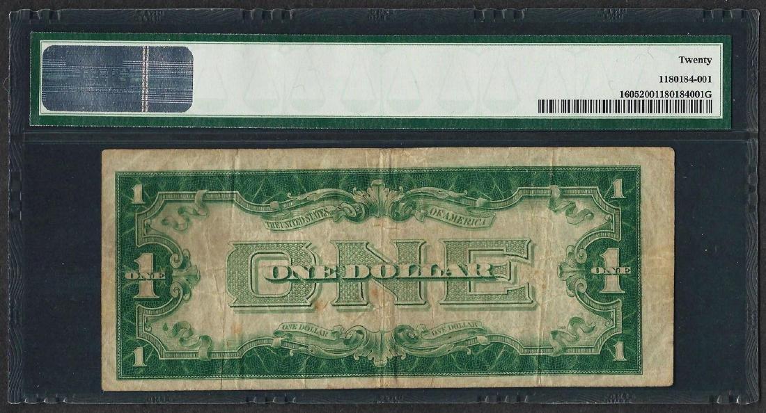 1928E $1 Silver Certificate Note Fr.1605 PMG Very Fine - 2