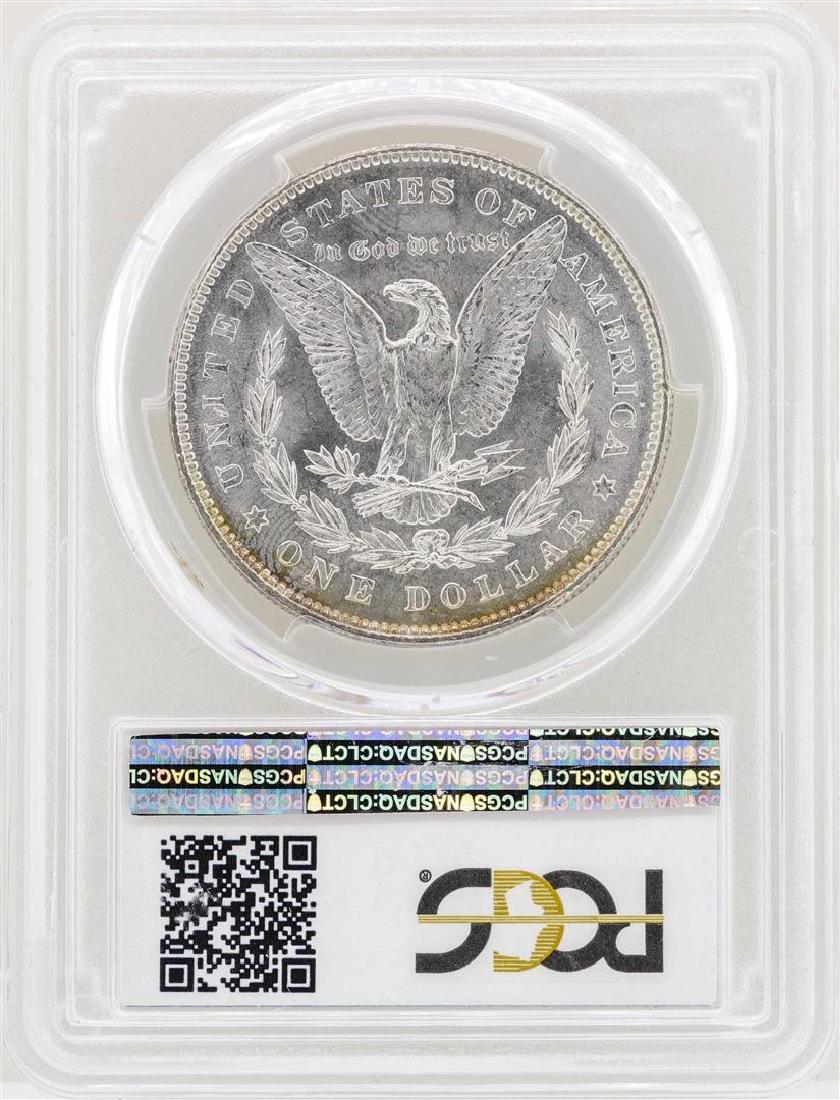 1878 7/8TF $1 Morgan Silver Dollar Coin PCGS MS62 Weak - 2