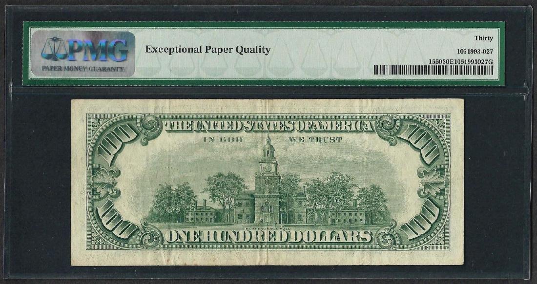 1966 $100 Legal Tender Note Fr.1550 PMG Very Fine 30EPQ - 2