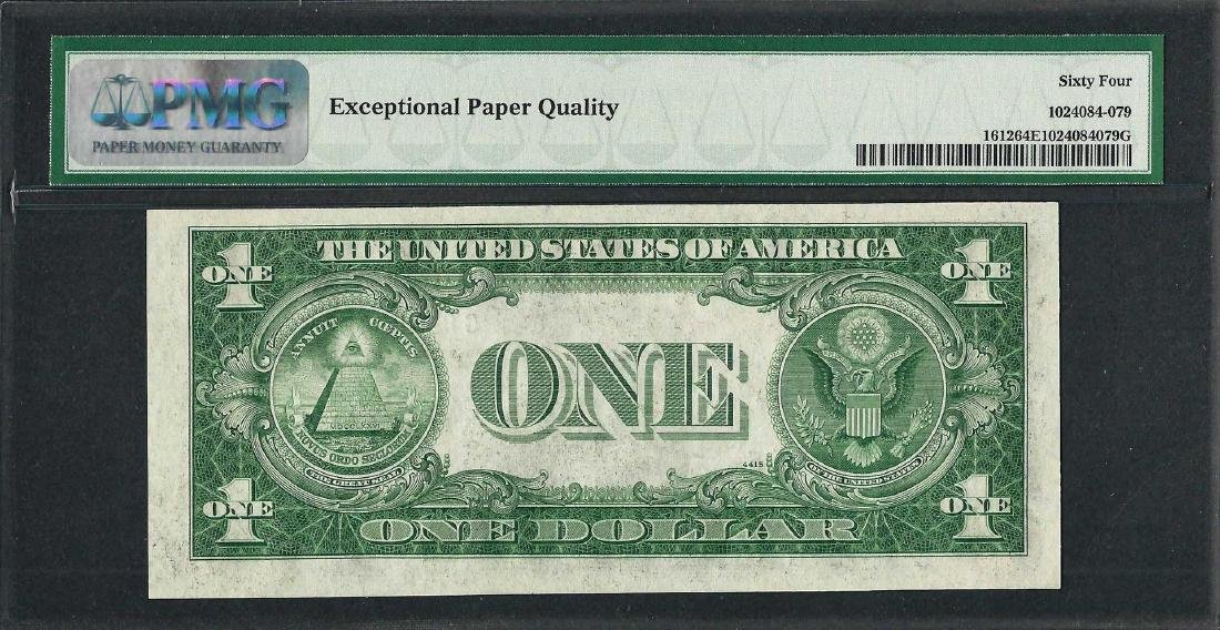 1935C $1 Silver Certificate Note Fr.1612 PMG Choice - 2