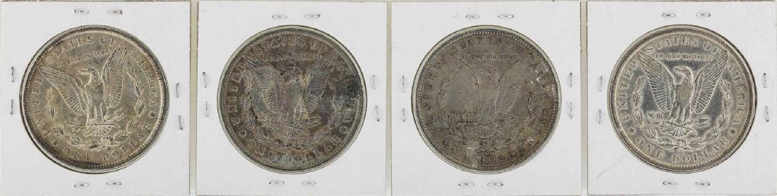 Lot of 1889-O to 1892-O $1 Morgan Silver Dollar Coins - 2