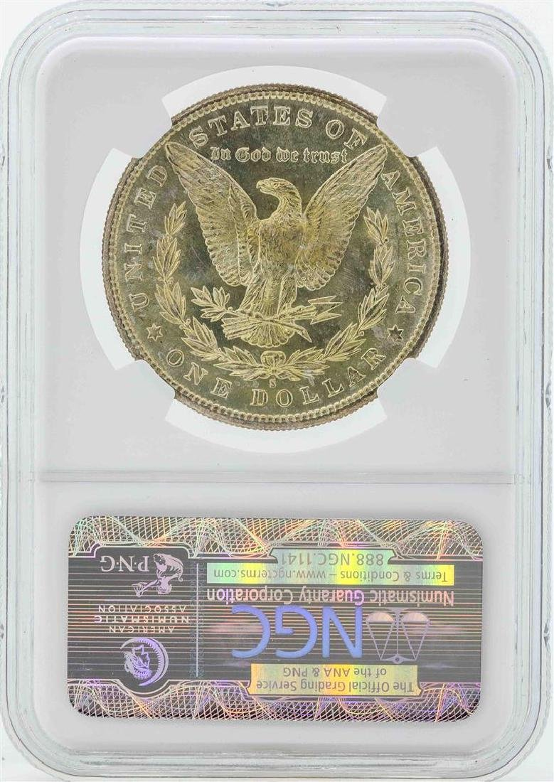 1881-S $1 Morgan Silver Dollar Coin NGC MS65 - 2