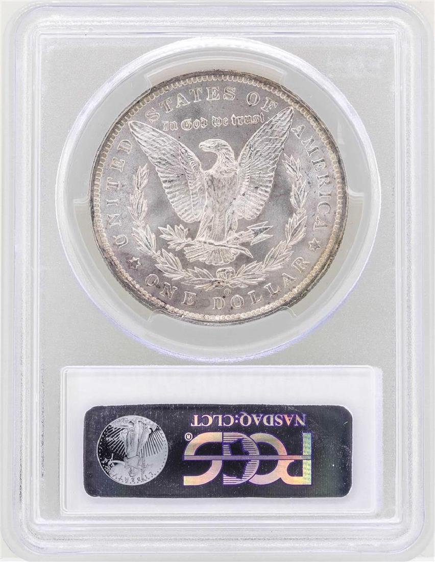 1885-O $1 Morgan Silver Dollar Coin PCGS MS63 - 2
