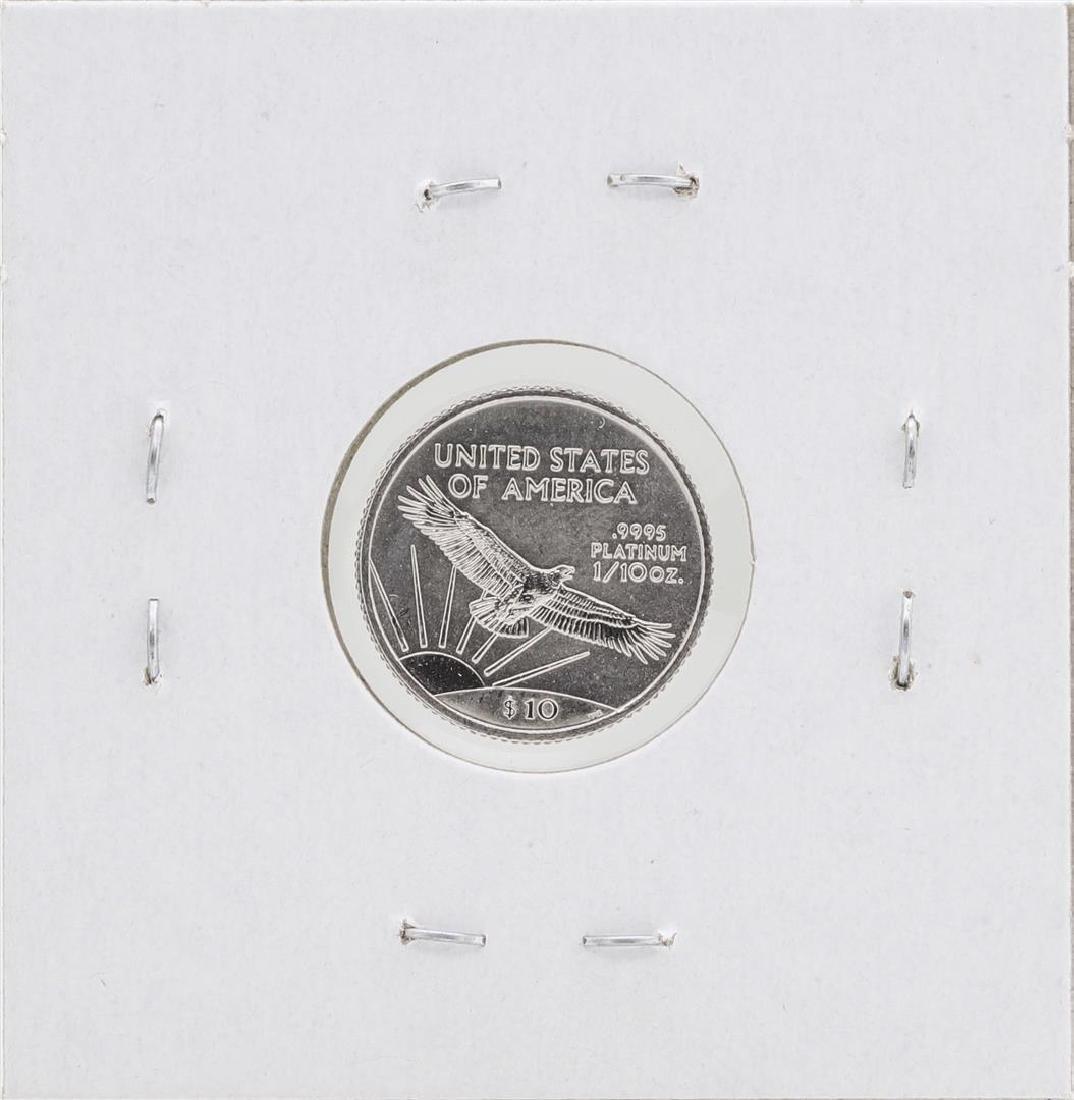 1999 $10 Platinum American Eagle Coin BU - 2
