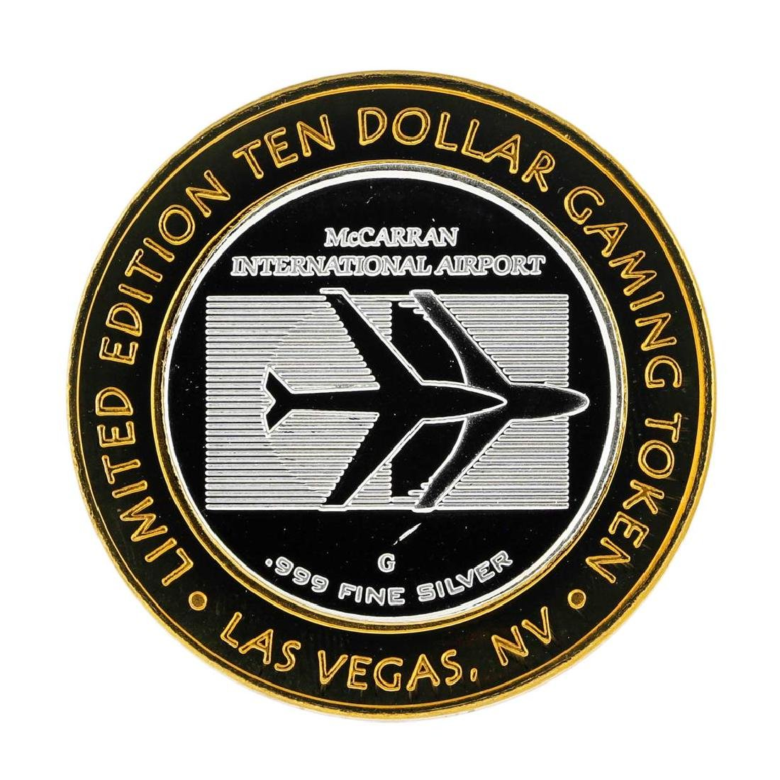 .999 Silver McCarran International Airport Las Vegas, - 2