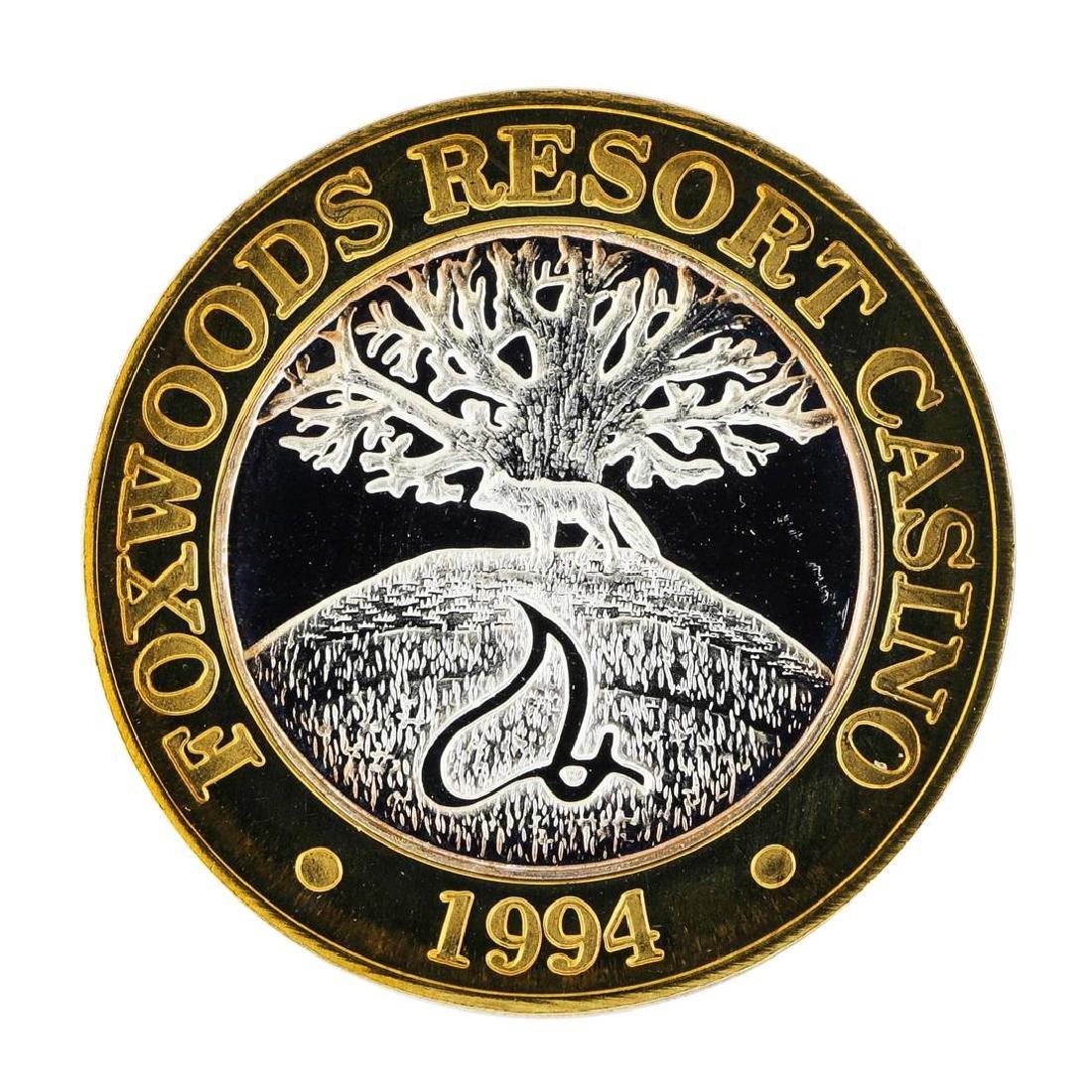 .999 Silver Foxwoods Resort Rhode Islands Casino $10