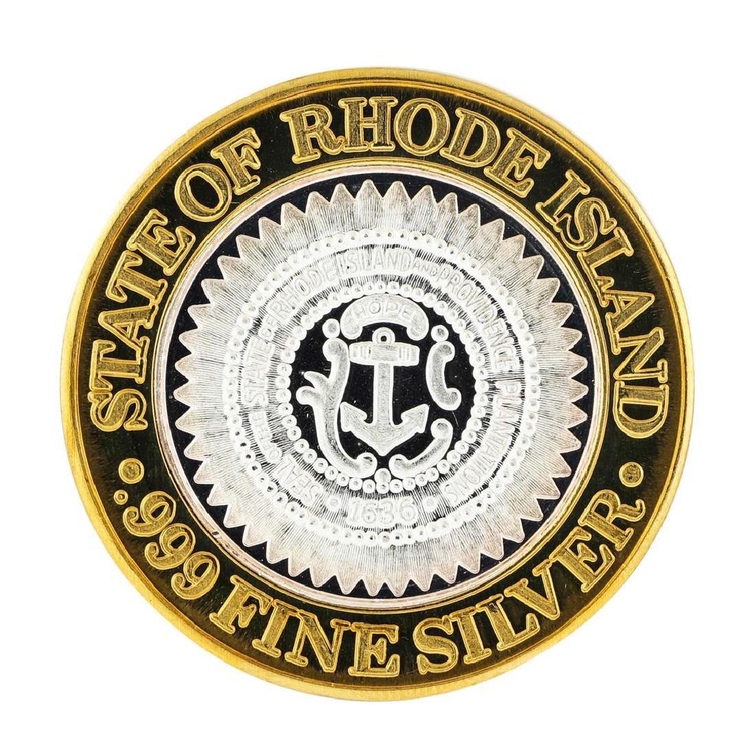 .999 Silver Foxwoods Resort Rhode Islands Casino $10 - 2