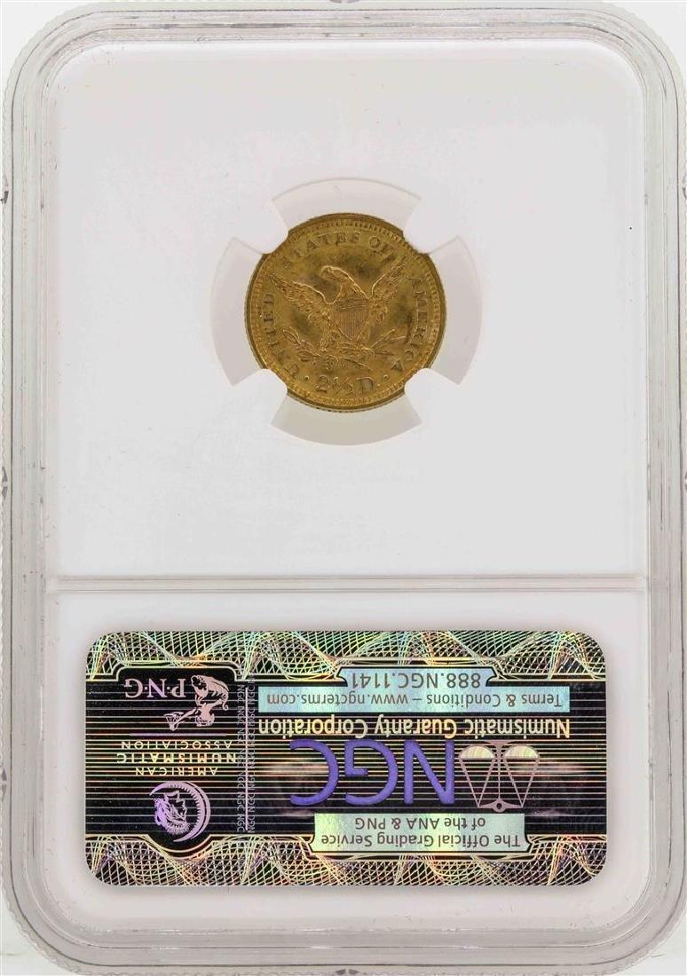 1900 $2 1/2 Liberty Head Quarter Eagle Gold Coin NGC - 2