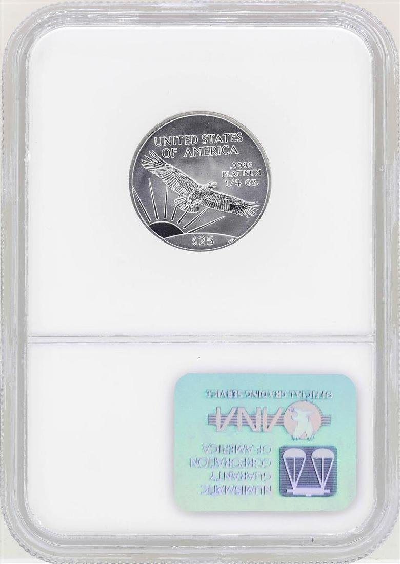 2002 $25 Platinum American Eagle Coin NGC MS69 - 2