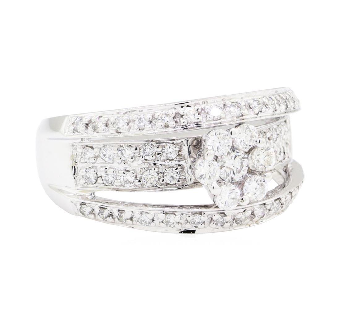 18KT White Gold 0.75 ctw Diamond Ring